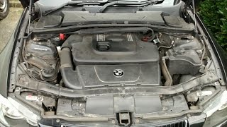 The sound of a failing turbo BMW E90 320D 2006 M47