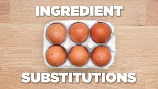 10 Genius Food Substitutions