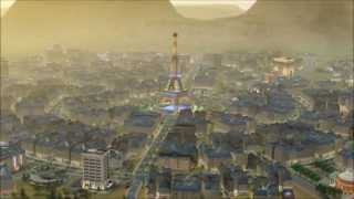 French style cycle city (SimCity 2013)