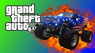 Gta 5 Funny Moments Flying cars Monster trucks Me flying around