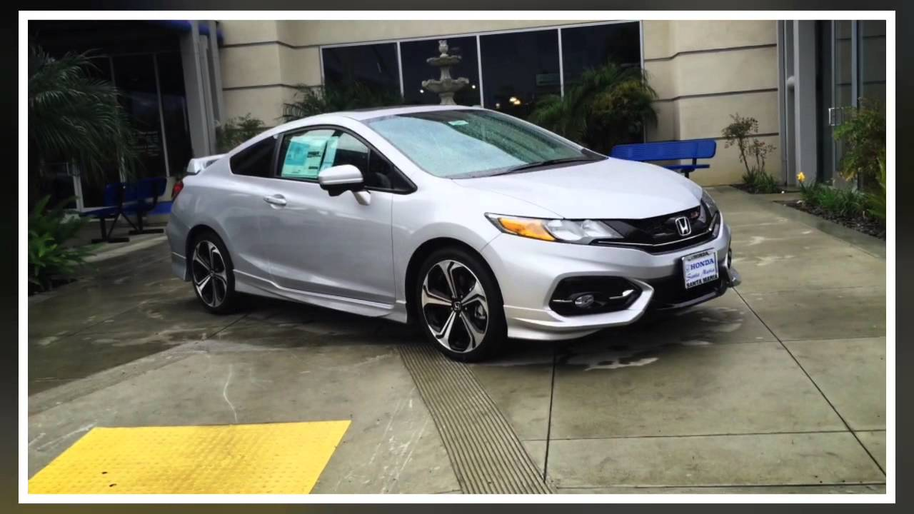 2015 Honda Civic Si With Aero Kit Youtube