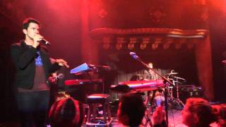 Andy Grammer - Airplanes - Live in San Francisco 1/15/2012