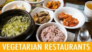 8 Places to Eat Vegetarian in Korea (KWOW #176)