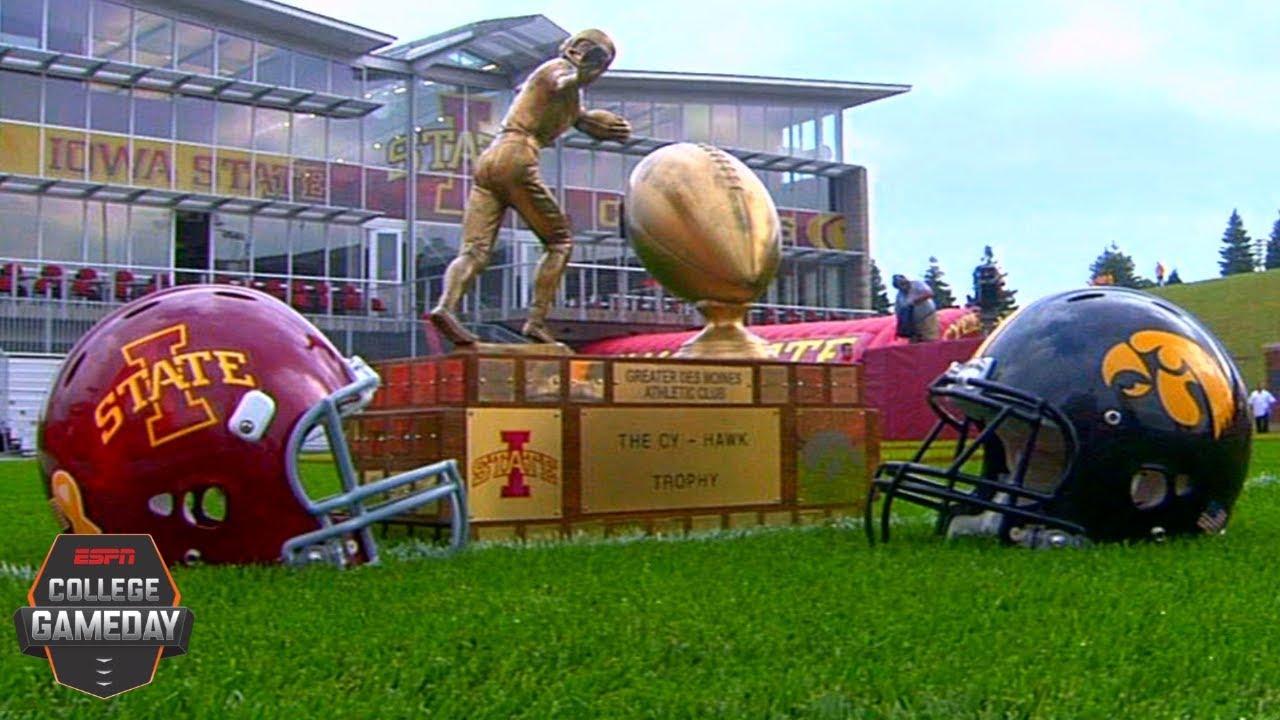 Espn College Gameday Rewind All The Updates From Iowa State The Gazette
