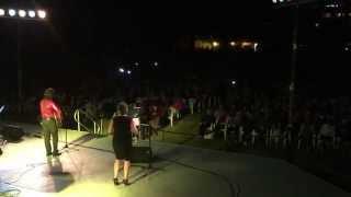 Sweet Caroline Crowd Sing-Along