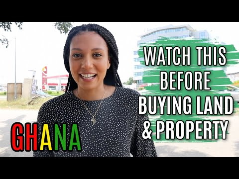 BUYING LAND & PROPERTY IN GHANA TIPS FROM A LAWYER | Can foreigners buy land in Ghana ? Leases?