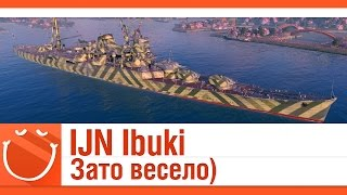 world of warships - IJN Ibuki зато весело)