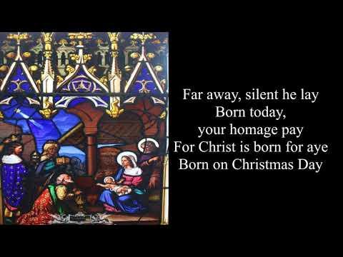 Nativity Carol - Christmas Carol (with lyrics)