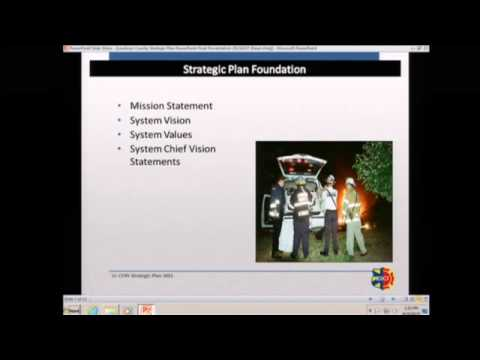 Loudoun County Combined Fire Rescue System Strategic Plan Presentation 2015
