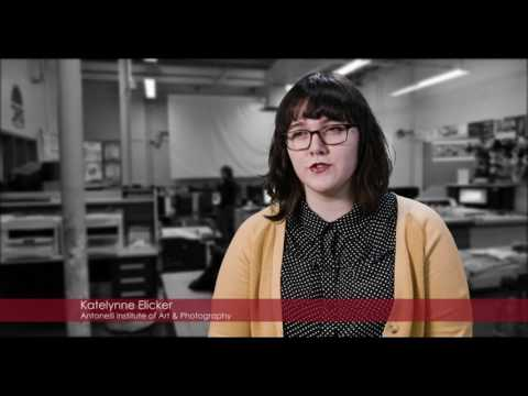 Dover Area High School CTE Commercial Advertising Art Overview (Video 2)