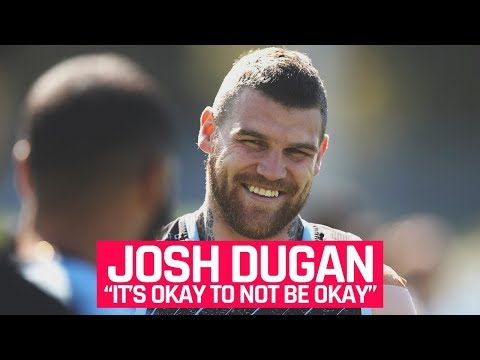Josh Dugan continues the discussion about mental health in the NRL