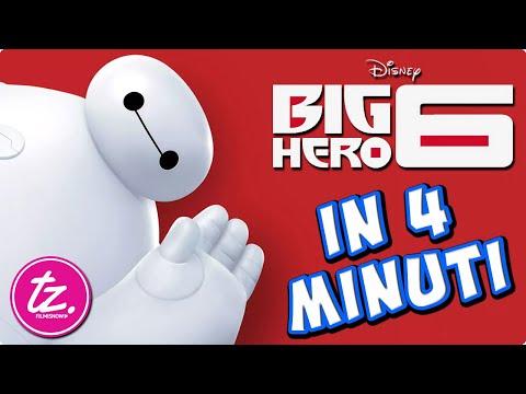 BIG HERO 6 | Raccontato in 4 Minuti - Film Disney