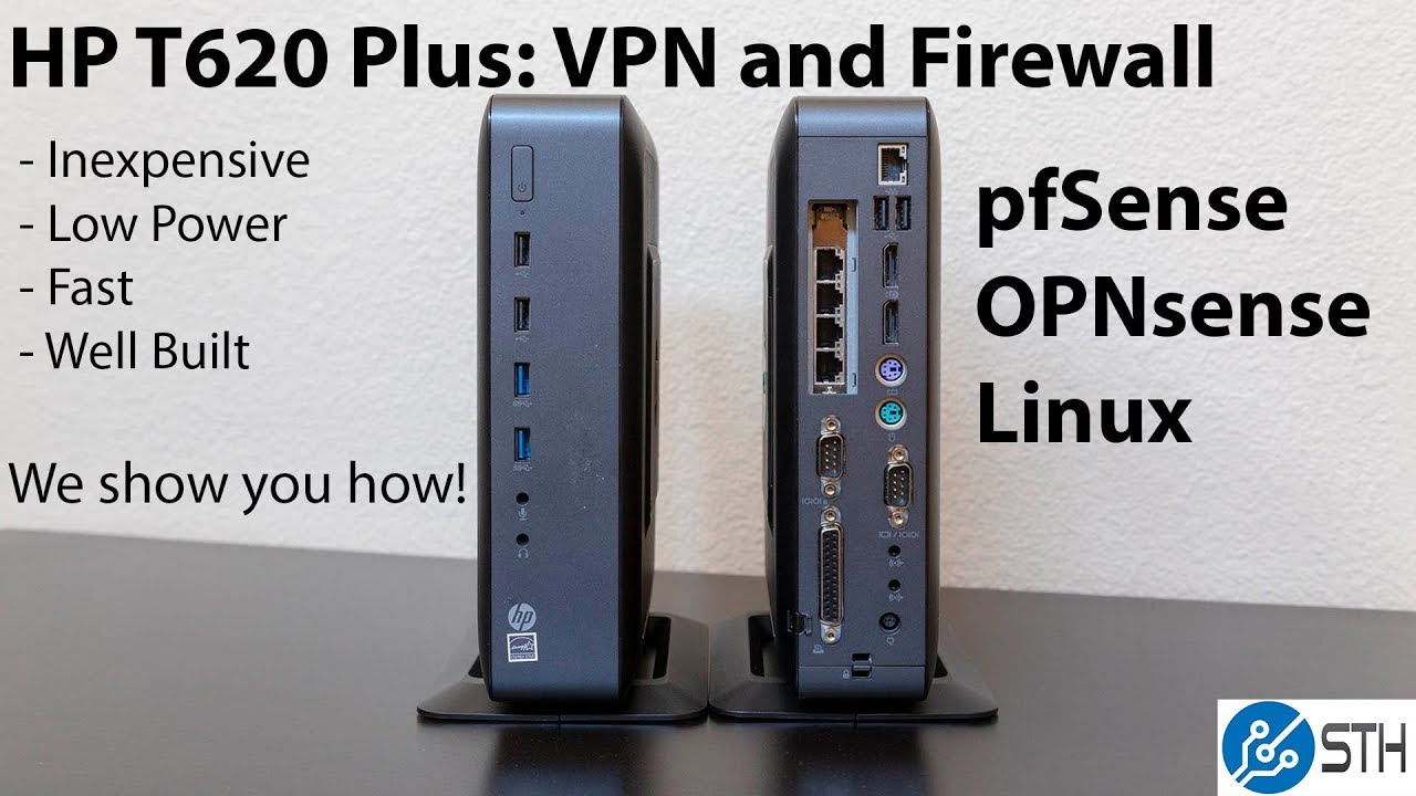 HP T620 Plus Firewall Overview and NIC Installation