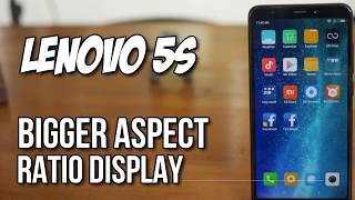 LENOVO S5 REVIEW | With A Bigger Aspect Ratio Display!