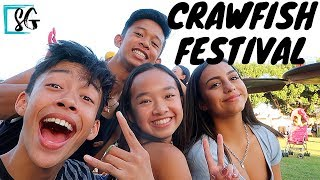 Crawfish Festival with family and friends 2019 Long Beach CA