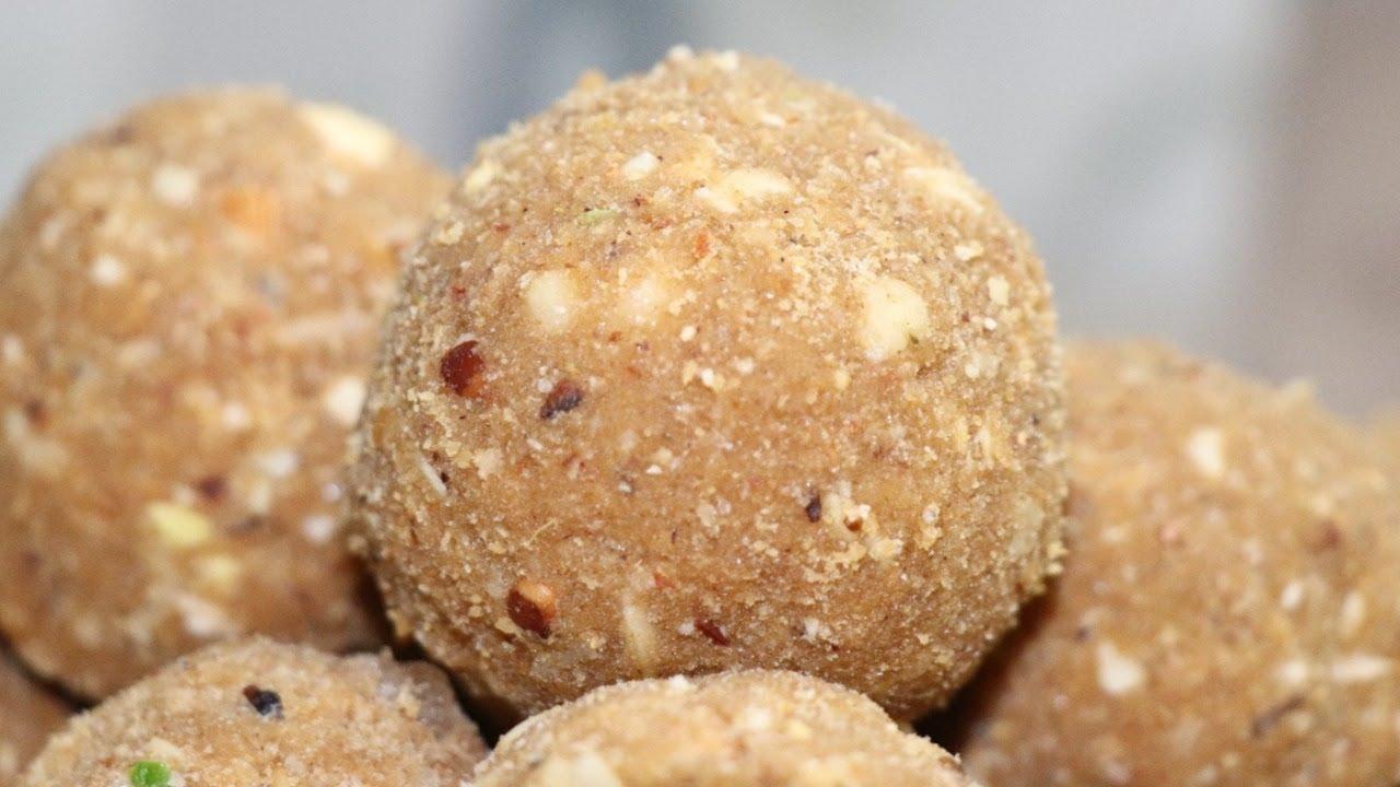 Gond ke Ladoo Recipe / How to make Gond ke Laddu / Winter special recipes / Panjeeri Ladoo Recipe - YouTube