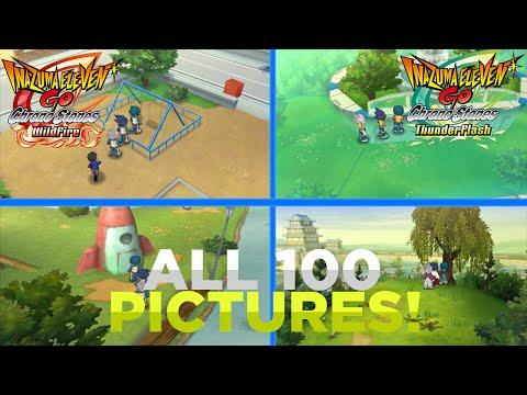Inazuma Eleven GO Chrono Stones Thunderflash/Wildfire: All 100 Pictures