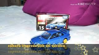 Tomica premium(Subaru impreza 22b-sti version )😉☺️😉