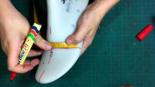 How to make shoes:Making a shoe-tutorial classic pump shoes