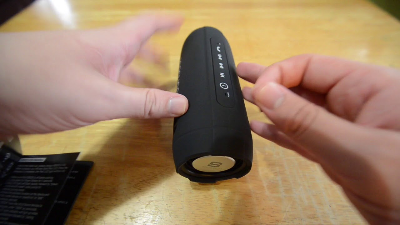 SoundBot SB526 FM Radio Wireless Bluetooth Speaker unboxing