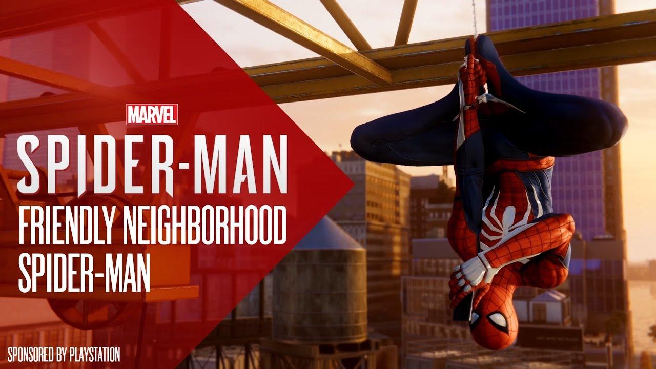 Friendly Neighborhood Spider-Man   Marvel's Spider-Man PS4
