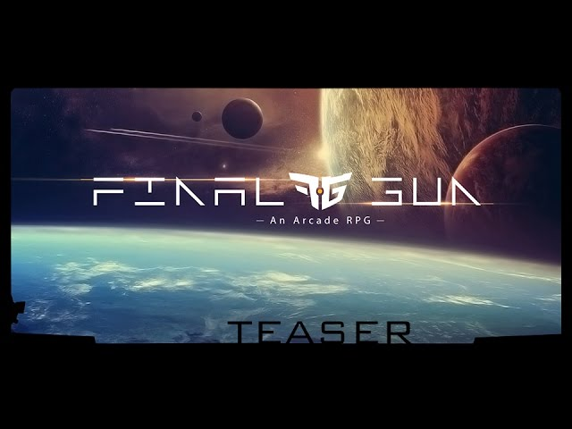 Final Gun - An Arcade RPG Teaser 1