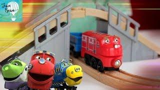 Весёлая Железная Дорога Чаггингтон! Chuggington Trains and Railroad