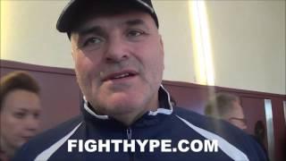 JOHN FURY INSISTS NEW & IMPROVED TYSON FURY HAS KEY TO DEFEAT KLITSCHKO: