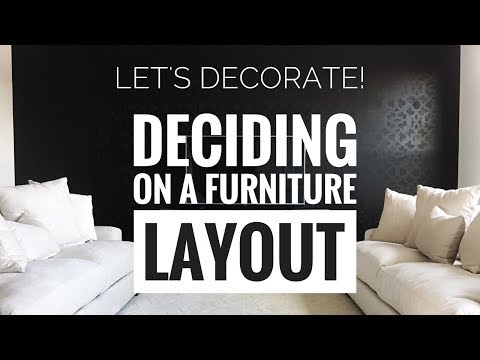 Living Room Furniture Layout Ideas - Decorate With Me!