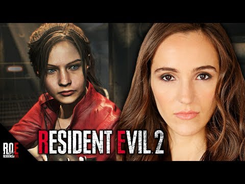 RESIDENT EVIL 2: REMAKE Interview - CLAIRE REDFIELD Actress Stephanie Panisello  | ROE Podcast