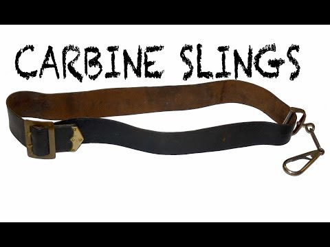 Equipment Of Civil War Cavalry: The Carbine Sling