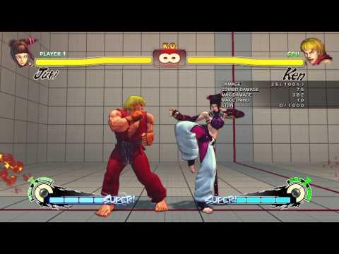 SSF4 - Beginners Guide to Juri - Super Street Fighter 4 Arcade Edition 2012