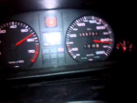 Audi V8 D11 4,2 280 PS Beschleunigung von 0 - 255 Km/h.