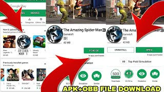 HOW TO DOWNLOAD REAL SPIDER-MAN 3 GAME FOR ANDROID | WITH GAMEPLAY PROOF | APK+OBB FILE