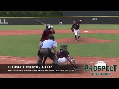 Hugh Fisher Prospect Video, LHP, Briarcrest Christian High School Class of 2017