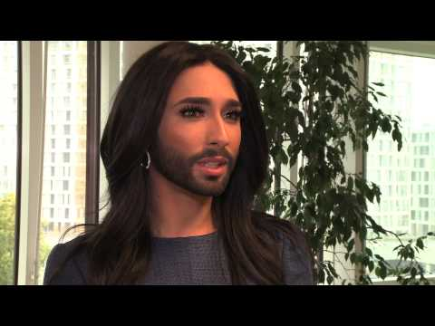 ConchitaWurst @ the UN in Vienna exclusive interview