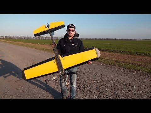 Самодельный самолет - начало постройки 20 лет назад - полетит ли ???