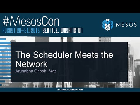 The Scheduler Meets the Network