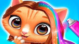 Прически для котят в салоне красоты для животных | Играем в новую игру для детей
