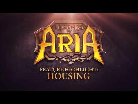 Legends of Aria: Feature Highlight - Housing