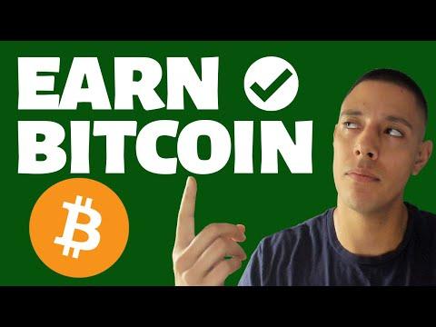 How To Earn Bitcoin Realistically