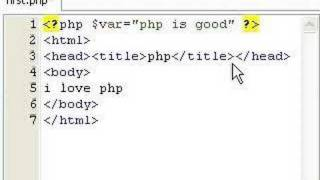 HTML and PHP Integration