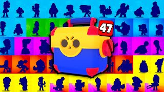 Unlocking All 46 Brawlers AT ONCE in Brawl Stars!! It Cost Me $____ 😦