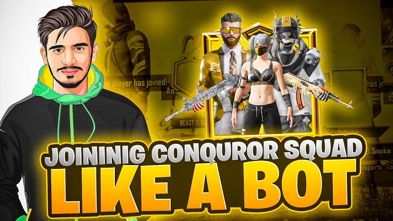 Download Joining Conqueror Squad and they Star t Calling me HACKER 😼😾 • ZyroJayyy • StarEsport Pakistan🇵🇰