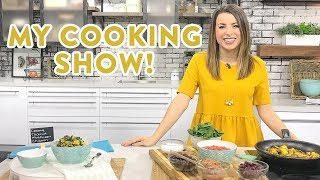 3 EASY 10 Minute Dinner Recipes! Cooking on LIVE TV!