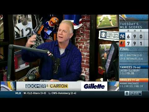 Boomer and Carton - Opening of the show (Craig Carton Arrested)