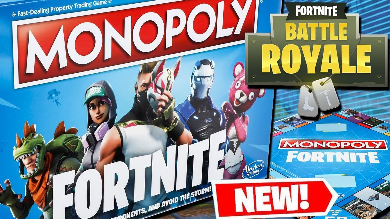 Fortnite Monopoly Is Coming Youtube