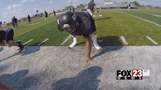 Repeat youtube video Double Leg Amputee High School Football Player