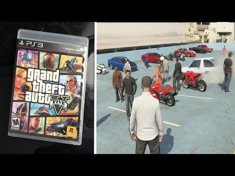 GTA 5 ONLINE on the PS3 in 2018..