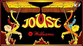 Joust | 1982 | Arcade | Gameplay | HD 720p 60FPS